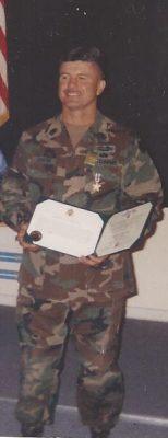 """Tony-154x400 Command Sergeant Major(R) Francis Anthony """"Tony"""" Cortez"""